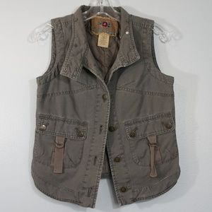 B.B. Dakota Jackets & Coats - B B  Dakota Gray Vest